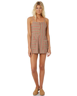 STRIPE WOMENS CLOTHING THE HIDDEN WAY PLAYSUITS + OVERALLS - H8182448STRIP