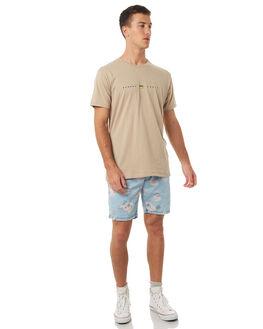 INDIGO FLORAL MENS CLOTHING BARNEY COOLS SHORTS - 615-MC4INDFL