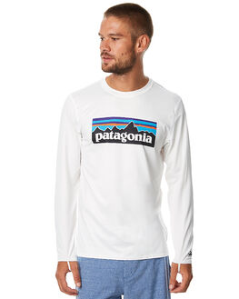 WHITE SURF RASHVESTS PATAGONIA MENS - 86170PWHT