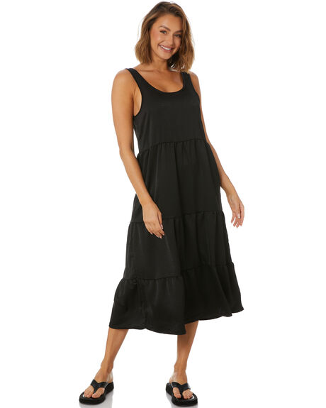 BLACK WOMENS CLOTHING ALL ABOUT EVE DRESSES - 6466141BLK