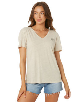 LIGHT FENNEL WOMENS CLOTHING RUSTY TEES - TTL1082LFN