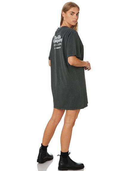 MERCH BLACK WOMENS CLOTHING THRILLS DRESSES - WTR9-905BMBLK