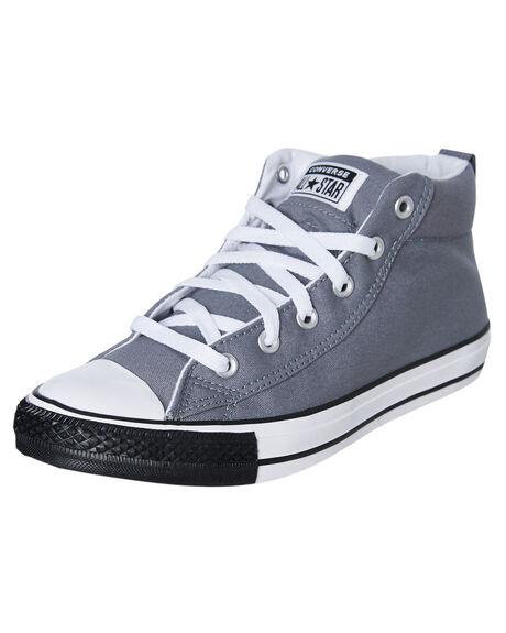 COOL GREY WOMENS FOOTWEAR CONVERSE SNEAKERS - SS166338CCGRYW