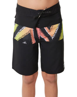 BLACK KIDS BOYS BILLABONG BOARDSHORTS - 8585415BLK