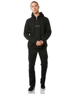 BLACK MENS CLOTHING AFENDS JUMPERS - M181510BLK