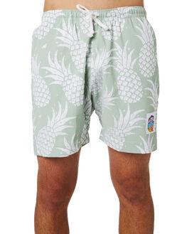 MINT MENS CLOTHING OKANUI BOARDSHORTS - OKSOPAMTMINT