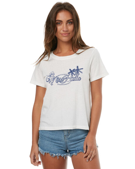WHITE WOMENS CLOTHING MINKPINK TEES - MP1707007WHT