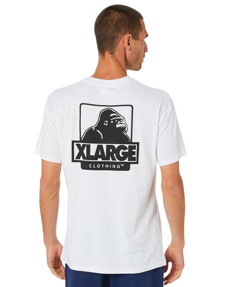 WHITE MENS CLOTHING XLARGE TEES - XL002001WHT