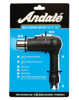 BLACK BOARDSPORTS SKATE ANDALE ACCESSORIES - 13246003BLK