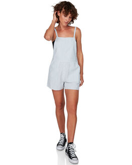 STRIPE WOMENS CLOTHING RVCA PLAYSUITS + OVERALLS - RV-R292762-STR