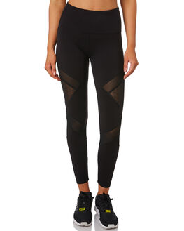 BLACK WOMENS CLOTHING LORNA JANE ACTIVEWEAR - WS1019208BLK