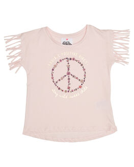 PINK KIDS TODDLER GIRLS EVES SISTER TOPS - 8021046PNK