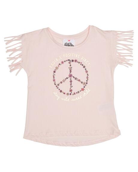 PINK KIDS TODDLER GIRLS EVES SISTER TOPS - 8021046PNK