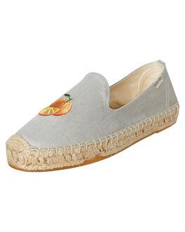 CHAMBRAY WOMENS FOOTWEAR SOLUDOS FLATS - 1000192-420CHAM