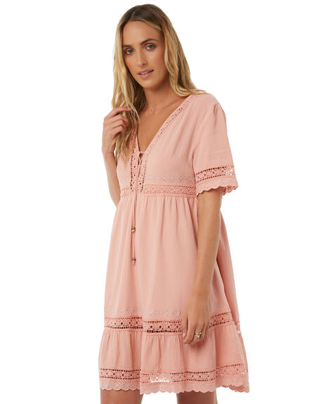 BLUSH WOMENS CLOTHING ARNHEM DRESSES - ARMEMN02BLUSH