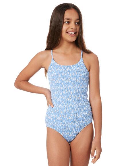SUMMER BLUE KIDS GIRLS SEAFOLLY SWIMWEAR - 15653-173BLU