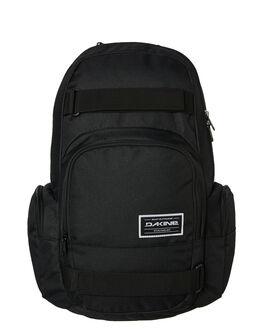 BLACK MENS ACCESSORIES DAKINE BAGS + BACKPACKS - 10000762BLK