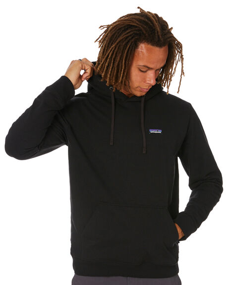 BLACK MENS CLOTHING PATAGONIA HOODIES + SWEATS - 39611BLK
