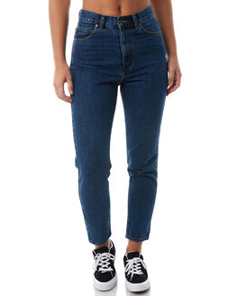 MID RETRO WASH WOMENS CLOTHING DR DENIM JEANS - 1430113G18