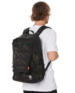 BLACK MULTICAM MENS ACCESSORIES NIXON BAGS + BACKPACKS - C29553015
