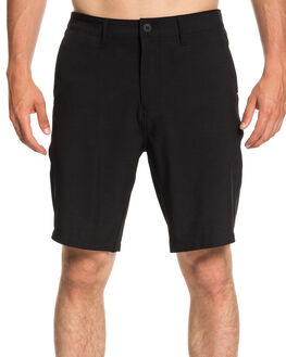 BLACK MENS CLOTHING QUIKSILVER SHORTS - EQYWS03537KVJ0