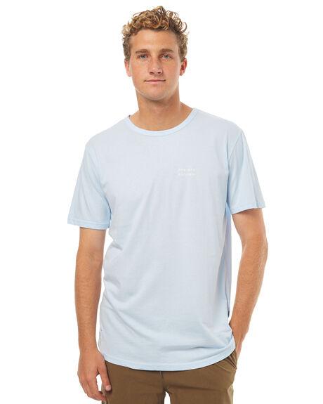 PALE BLUE MENS CLOTHING RPM TEES - 7SMT02BPBLU