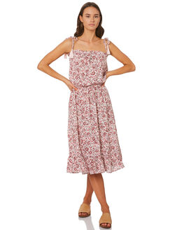 ROSE WOMENS CLOTHING THE HIDDEN WAY DRESSES - H8201457ROSE