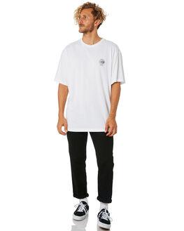 WHITE MENS CLOTHING LOWER TEES - LO18Q4MTS15WHT