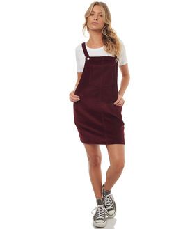 BURGANDY WOMENS CLOTHING ALL ABOUT EVE PLAYSUITS + OVERALLS - 6491068BURG
