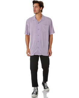 PIGMENT PLUM MENS CLOTHING NO NEWS SHIRTS - N5201166PIGPM