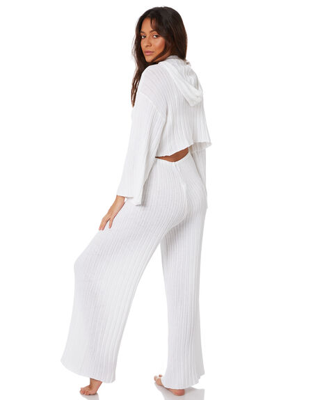 WHITE WOMENS CLOTHING SNDYS PANTS - SEP027WHT
