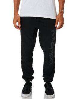 BLACK BLACK MENS CLOTHING ADIDAS PANTS - CF5793BLK