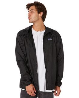 BLACK MENS CLOTHING PATAGONIA JACKETS - 24142BLK