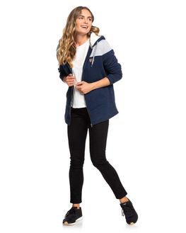 DRESS BLUES WOMENS CLOTHING ROXY JUMPERS - ERJFT03999-BTK0