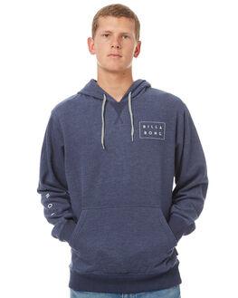 NAVY HEATHER MENS CLOTHING BILLABONG JUMPERS - 9575613NHTR