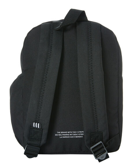 BLACK MENS ACCESSORIES ADIDAS BAGS + BACKPACKS - GD4575BLK
