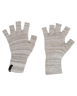 LIGHT GREY MARLE WOMENS ACCESSORIES RUSTY SCARVES + GLOVES - MAL0248LGM