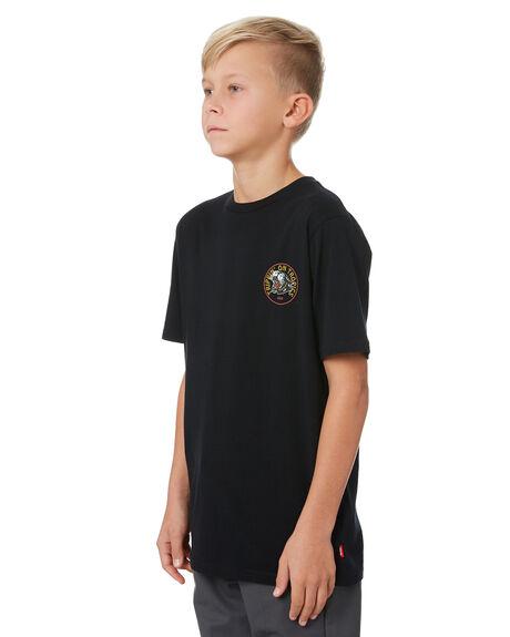 BLACK KIDS BOYS GLOBE TOPS - GB41920000NLK