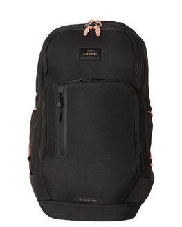 BLACK WOMENS ACCESSORIES RIP CURL BAGS + BACKPACKS - LBPJD10090
