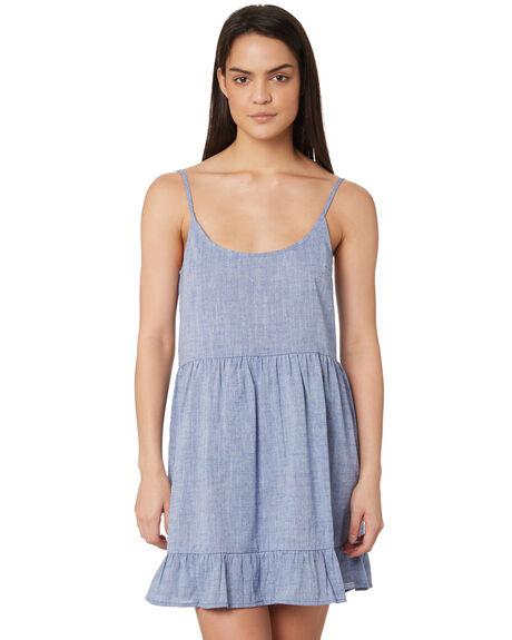 BLUE WOMENS CLOTHING ELWOOD DRESSES - W84712123
