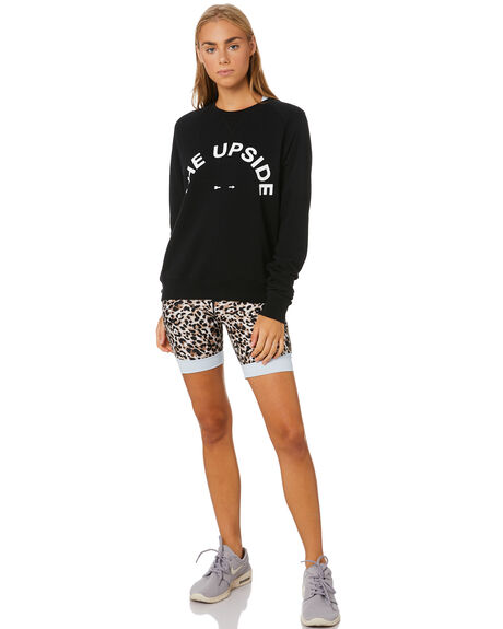 BLACK WOMENS CLOTHING THE UPSIDE ACTIVEWEAR - USW019001BLK