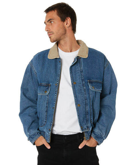 SOFA BLUE MENS CLOTHING ROLLAS JACKETS - 159175245