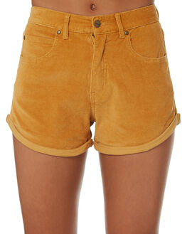 AMBER WOMENS CLOTHING AFENDS SHORTS - W181303-AMB