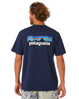 CLASSIC NAVY MENS CLOTHING PATAGONIA TEES - 39174CNY