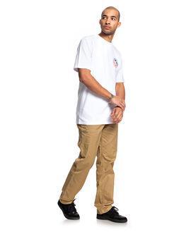 SNOW WHITE MENS CLOTHING DC SHOES TEES - UDYZT03666-WBB0