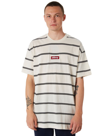 OFF WHITE MENS CLOTHING STUSSY TEES - ST086100OWHT