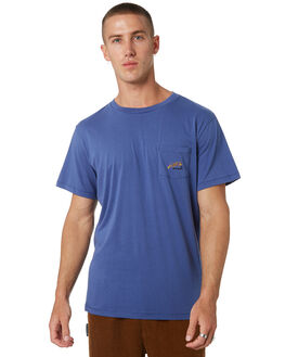 DUSTY NAVY MENS CLOTHING MISFIT TEES - MT095001DSNVY