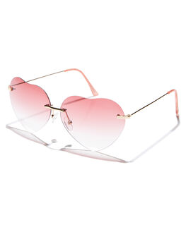 GOLD PINK WOMENS ACCESSORIES MINKPINK SUNGLASSES - MNP1808247GLD