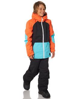 PUFFIN ORANGE BOARDSPORTS SNOW BILLABONG KIDS - L6JB01SPUFOR