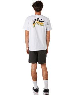 WHITE MENS CLOTHING RUSTY TEES - TTM2299WHT